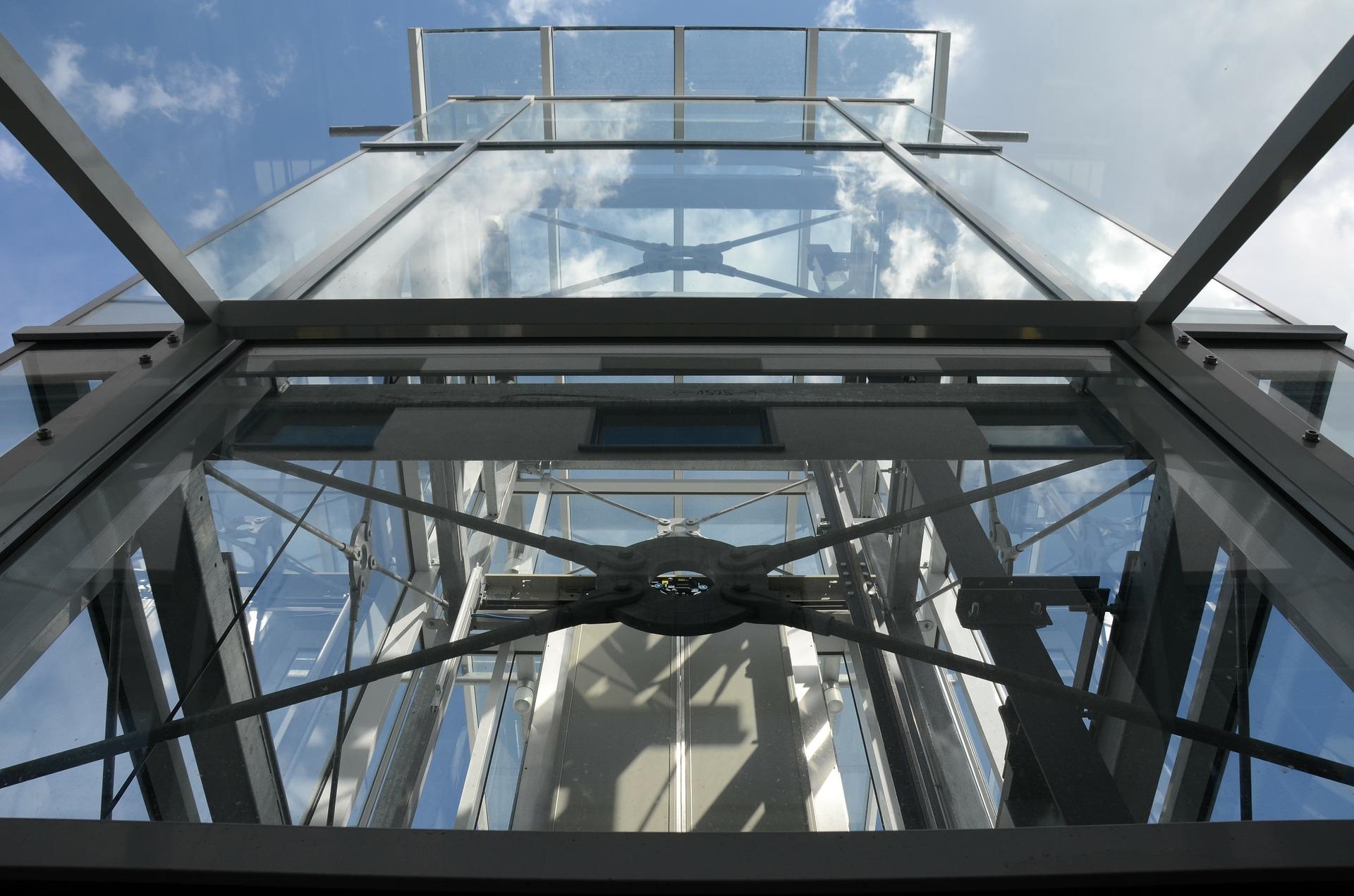 ascensore vetrata
